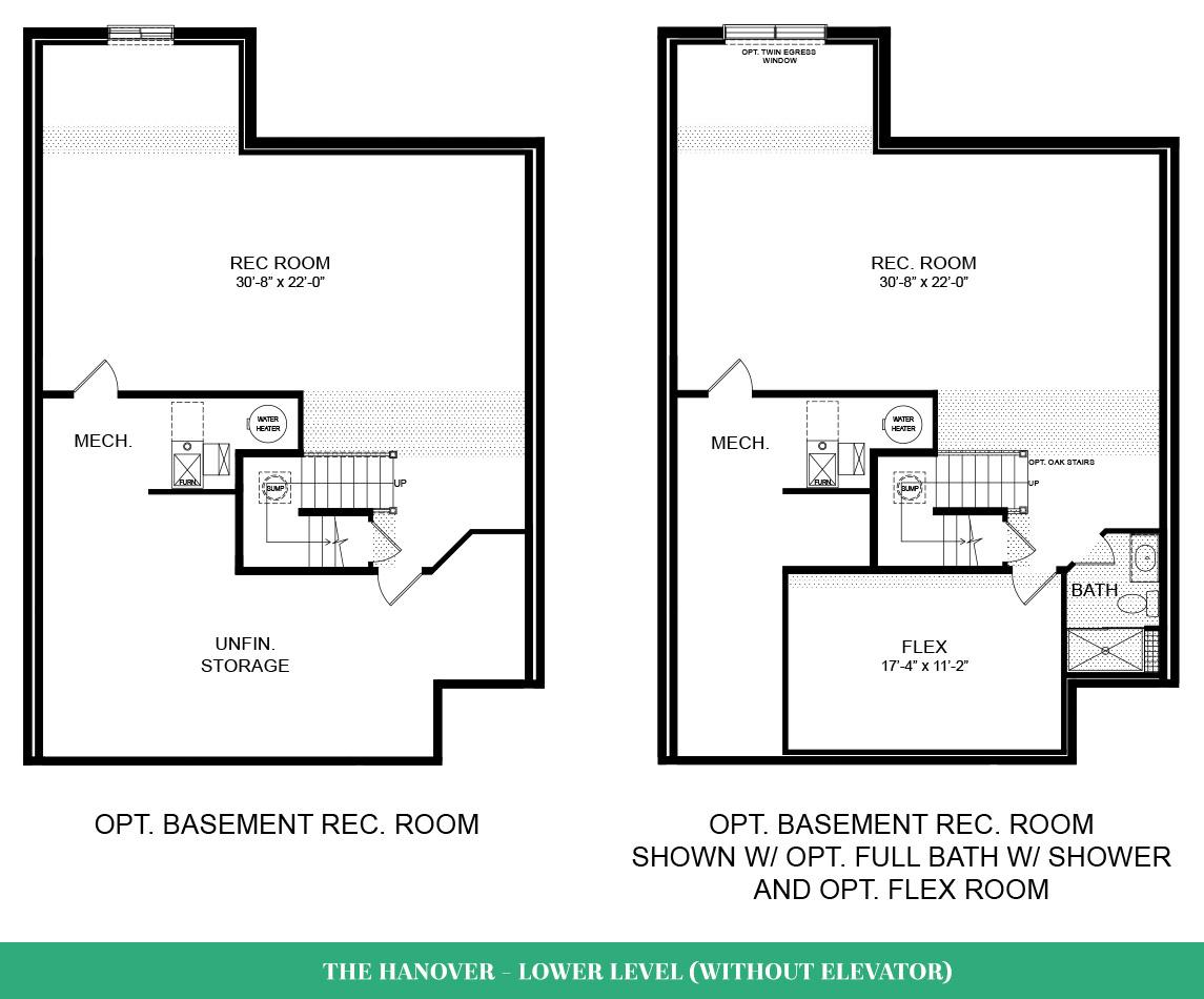 Hanover Without Elevator Floorplan Birchwood At Brambleton