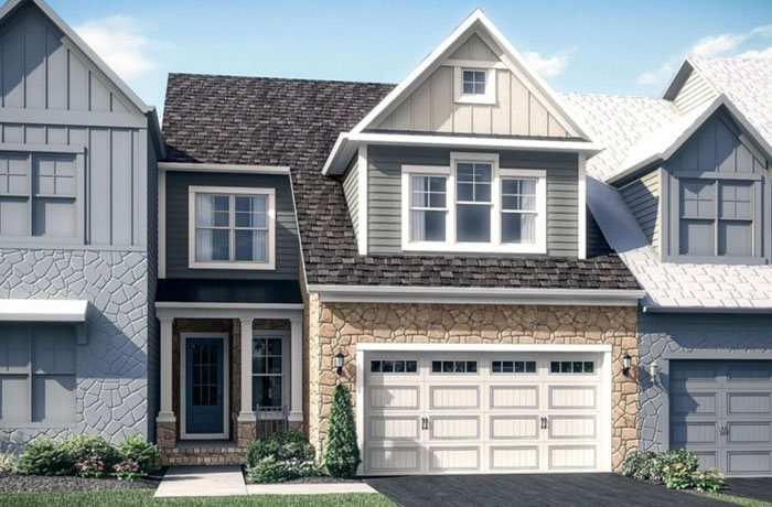 winchester homes fairwinds brick rendering