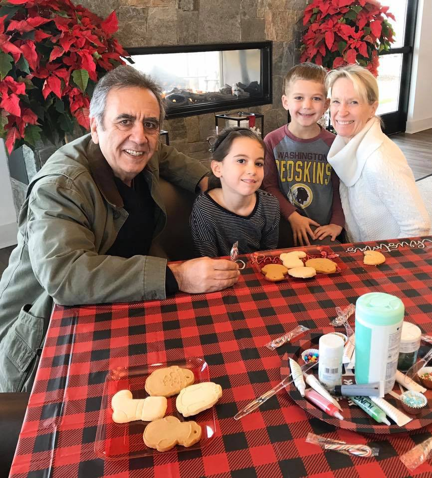 Birchwood Residents Cookie Decorating with Grandkids